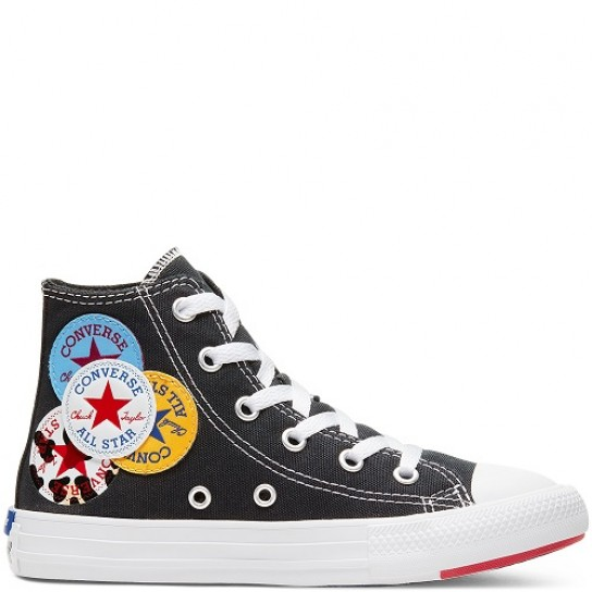 Converse All Star Hi Jr - Blk/Univ
