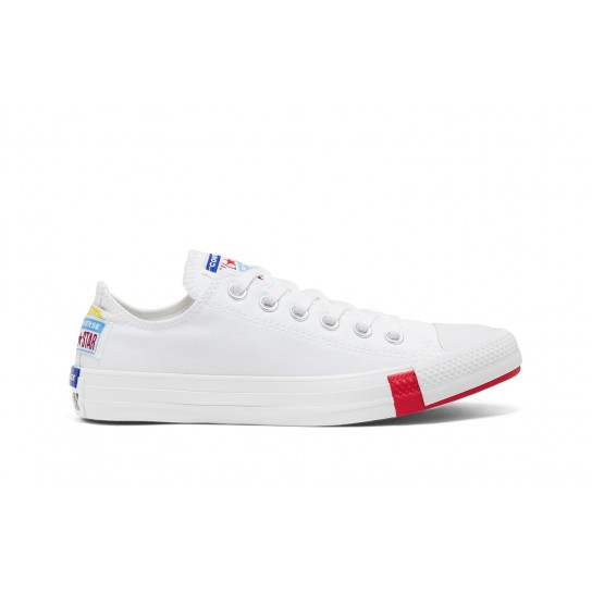 Converse All Star Ox Jr - Wht/Univ