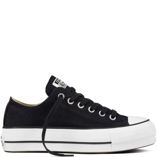 Converse All Star Lift Ox - Preta