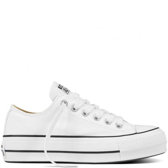 Converse All Star Lift Ox - Branca