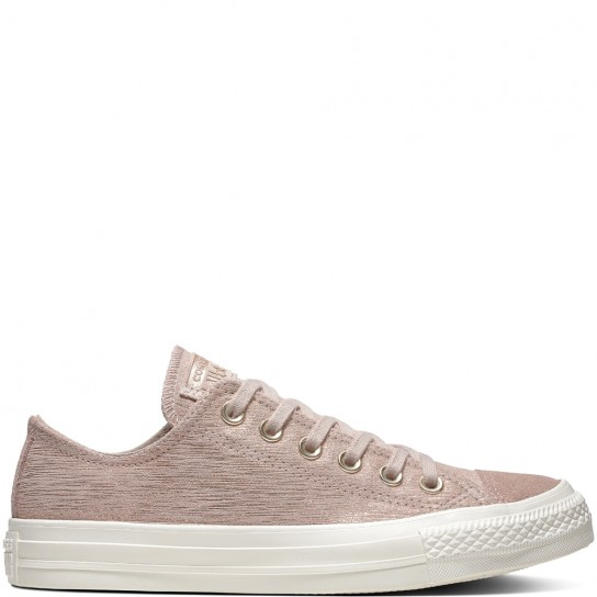 Converse All Star Ox Precious Metal Suede - Difused Taupe