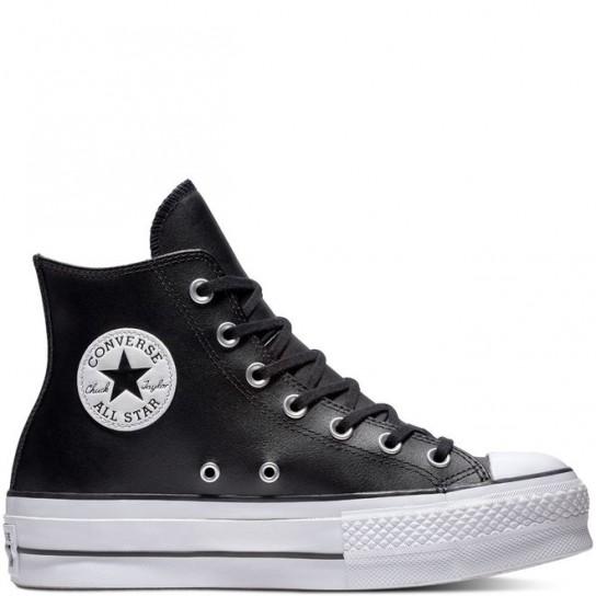 Converse All Star Hi Lift Clean - Preta