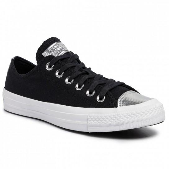 Converse All Star Ox Black/Black/White