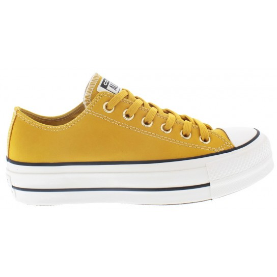Converse All Star Lift Ox - Gold
