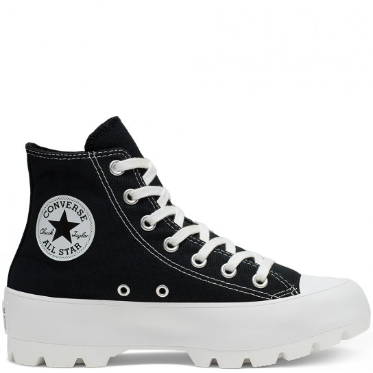 Converse All Star Lugged High Top - Preta