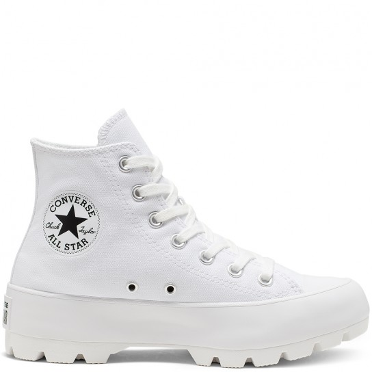 Converse All Star Lugged High Top - Branca