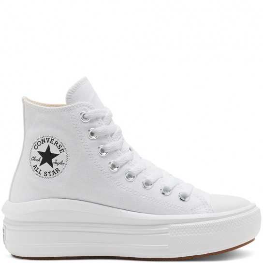 Converse All Star Move High Top - Branca