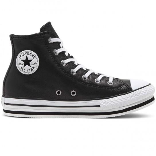 Converse All Star Hi Platform - Preto