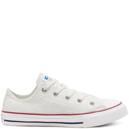 Converse All Star Ox Jr - White Garnet