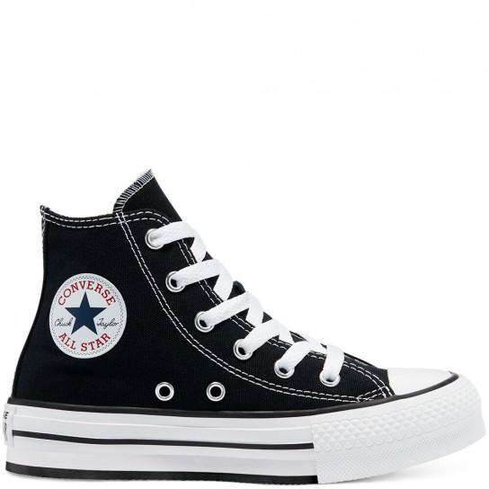 Converse All Star HI Lift Jr - Preta