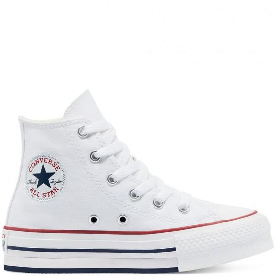Converse All Star HI Lift Jr - Branca