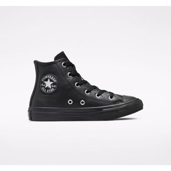 Converse All Star Hi Elevated Leather - Preto
