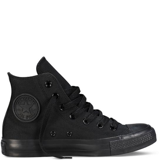 Converse All Star Hi - Black Monochrome