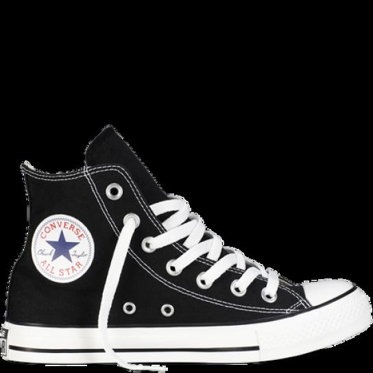 Converse All Star Hi - Preto