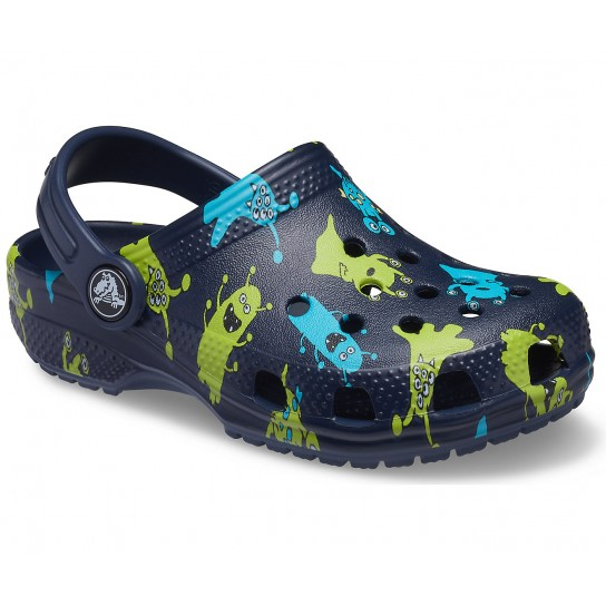 Crocs Classic K Monster - Azul