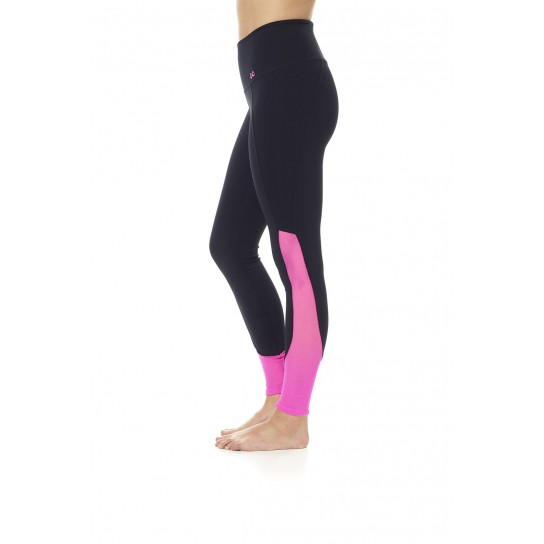 Leggings Bacatas Ditchil - Preto/Rosa