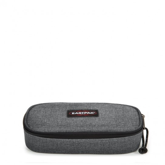 Estojo Eastpak Oval Single - Black Denim