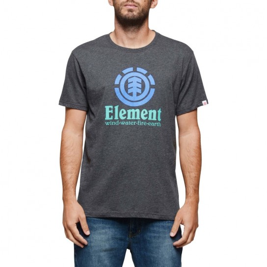 T-shirt Vertical Element - Grey Heather