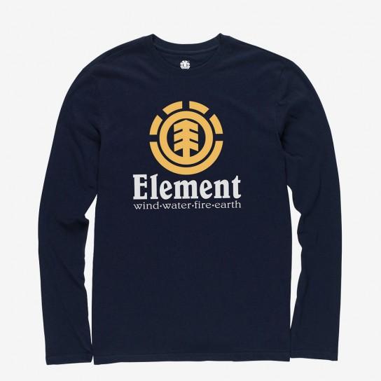 Camisola Element Vertical Boy - Azul