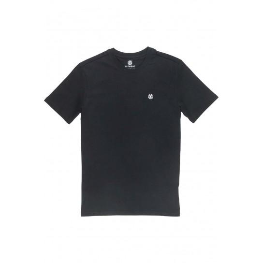 T-shirt Element Crail - Preto