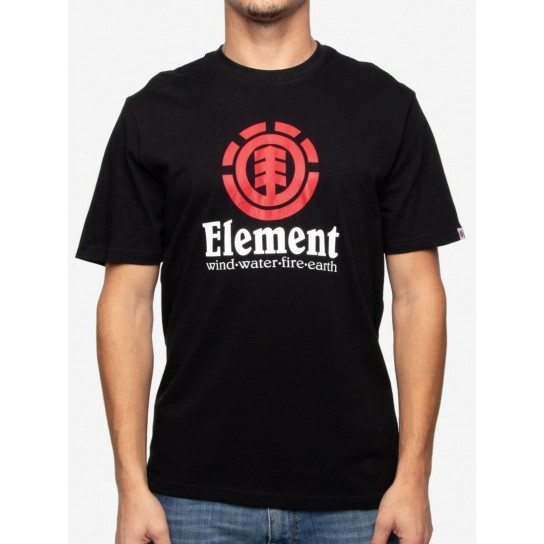 T-shirt Element Vertical - Flint Black