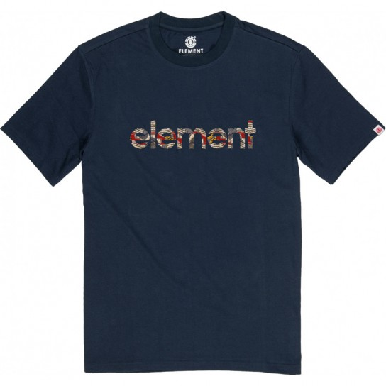 T-shirt Element Origins - Eclipse Navy