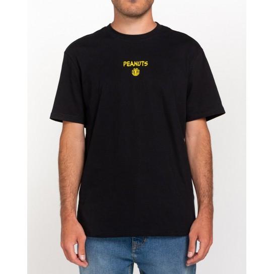 T-shirt Element Peanuts Kruzer - Preta