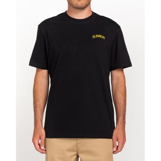 T-shirt Element Peanuts Emerge - Preta