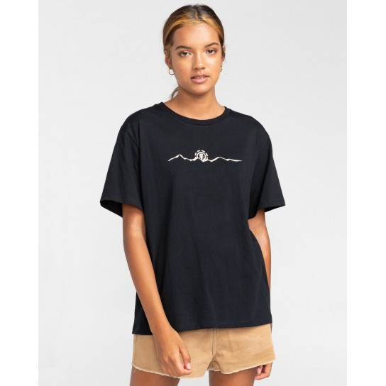 T-shirt Element Peanuts Trekking - preta