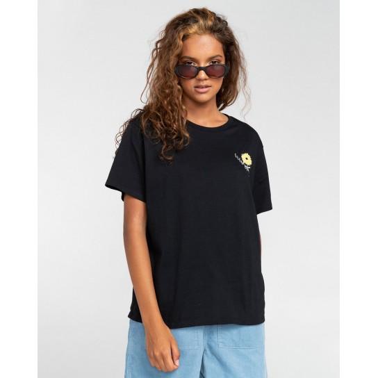 T-shirt Element Rise and Shine - Preto
