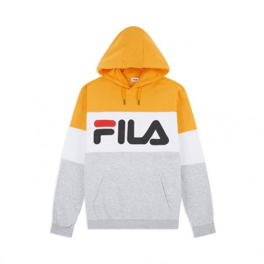 Sweat Fila Night Blocked Hood - Tricolor