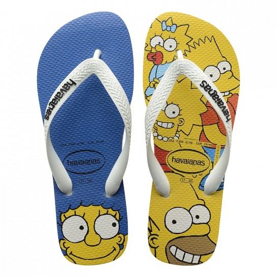 Havaianas Simpsons - Branco