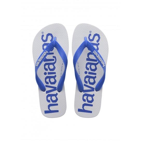 Havaianas Top Logomania2 - Branco/Azul