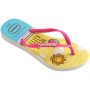 Havaianas Slim Kids Hello Kitty - Amarelo