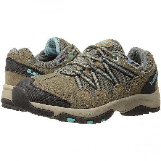 Hi-Tec Florence Low WP Womens - Taupe-Mint