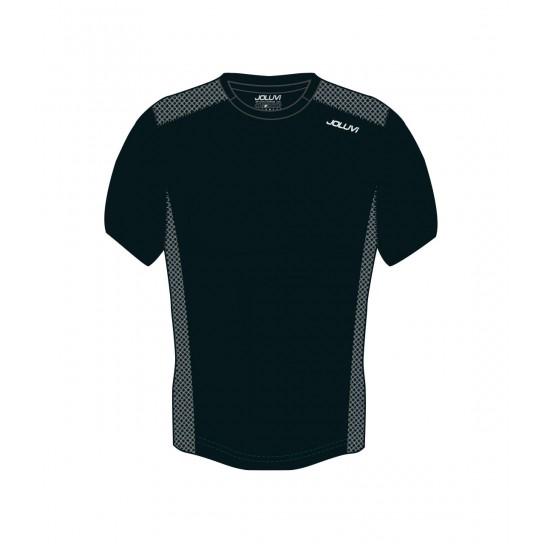 T-shirt Joluvi Duplex - preto