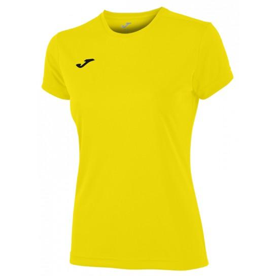 T-shirt Joma Combi W - Amarelo
