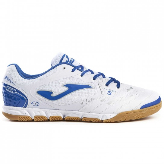 Joma Liga 5 902 Indoor - White/Royal
