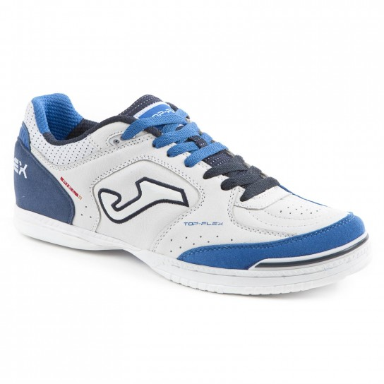 Joma Top Flex 720 White/Navy Indoor