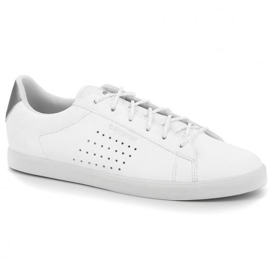 Le Coq Sportif Agate Premium - Branco/Prata