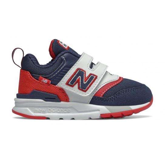 New Balance IZ997HVN -Azul/Vermelho