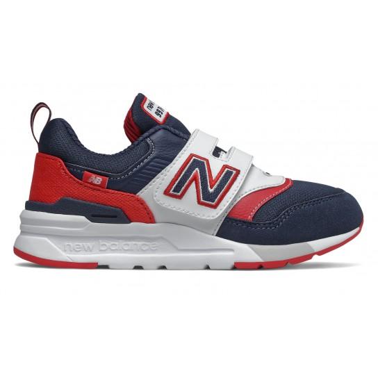 New Balance PZ997HVN - Azul/Vermelho