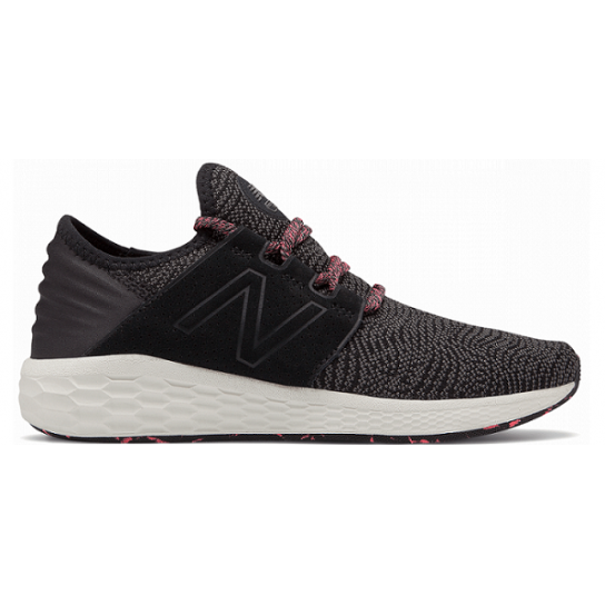 New Balance Fresh Foam Cruz V2 - Preta/Rosa