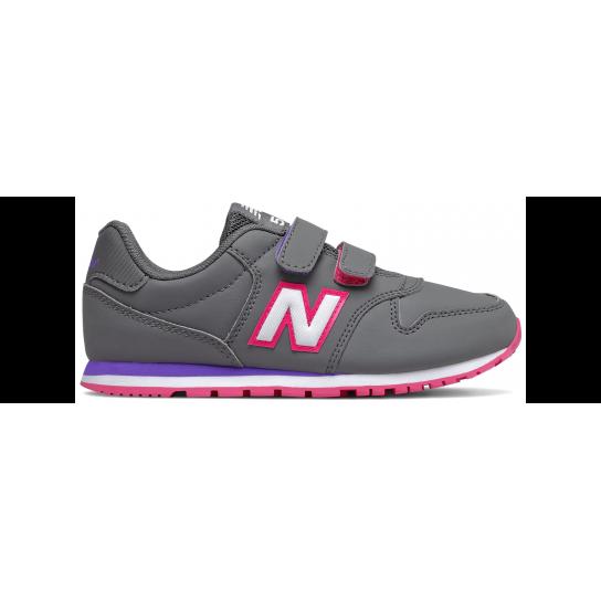 New Balance YV500RGP - Cinza/Rosa