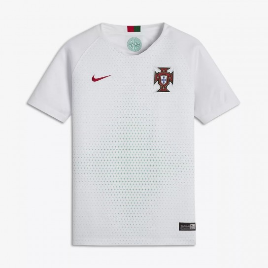 Camisola alternativa Júnior Nike Portugal Breathe Stadium Away 18