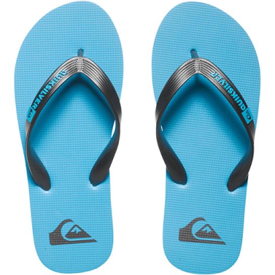 Chinelo praia Quiksilver Molokai Jr - Azul