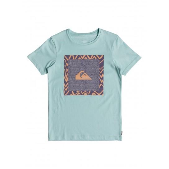 T-shirt Quiksilver Classic Nano Spano Jr - Eggshell blue