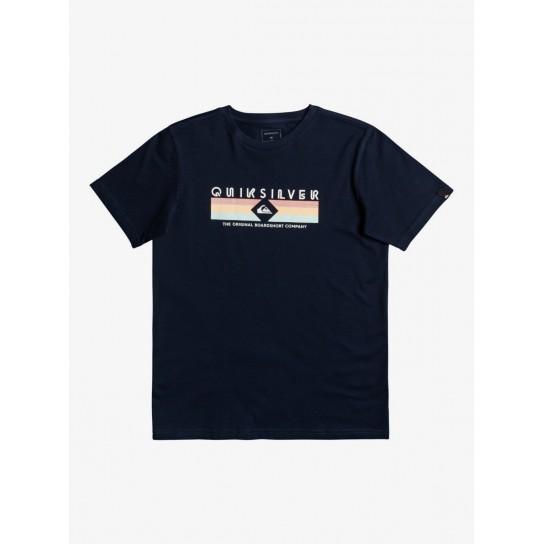 T-shirt Quiksilver Distant Shores Jr - Navy Blazer