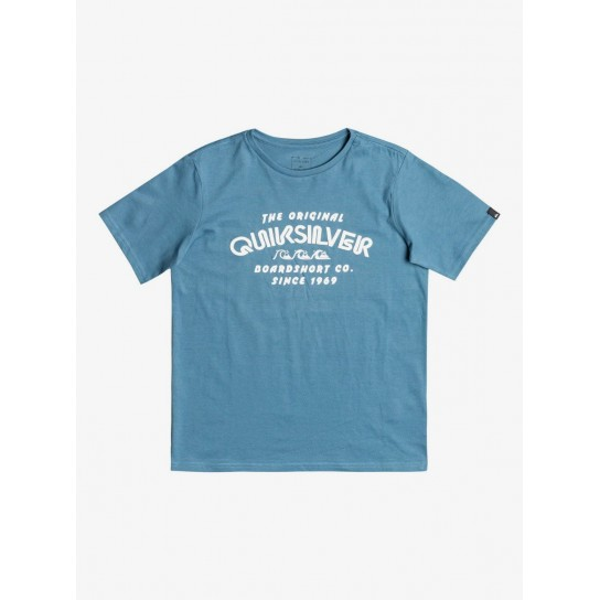 T-shirt Quiksilver Wilder Mile - Captains Blue