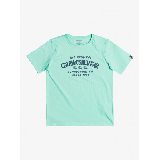 T-shirt Quiksilver Wilder Mile - Cabbage